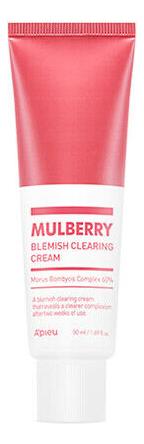 Крем для проблемной кожи лица Mulberry Blemish Clearing Cream 50мл clinique anti blemish solutions крем гель для ухода за проблемной кожей anti blemish solutions крем гель для ухода за проблемной кожей