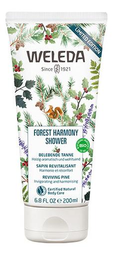 Гель для душа на основе натуральных эфирных масел Forest Harmony 200мл гель для душа weleda forest harmony 200 мл