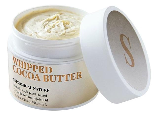 Взбитое масло какао для тела Whipped Cocoa Butter 200мл ufeelgood organic cocoa premium butter органическое какао масло 200 г