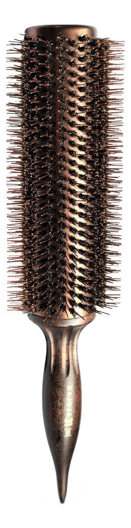 Щетка для волос круглая Brush Choco Brown: Щетка 10 43мм щетка для волос круглая brush choco brown щетка 6 27мм