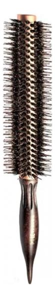 Щетка для волос круглая Brush Choco Brown: Щетка 4 19мм щетка для волос круглая brush choco brown щетка 6 27мм