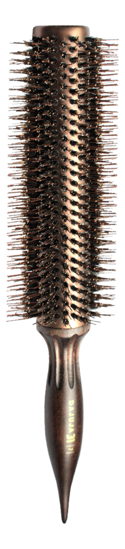 Щетка для волос круглая Brush Choco Brown: Щетка 7 32мм щетка для волос круглая brush choco brown щетка 6 27мм