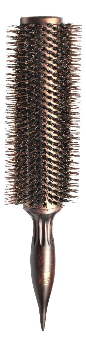 Щетка для волос круглая Brush Choco Brown: Щетка 9 38мм щетка для волос круглая brush choco brown щетка 6 27мм