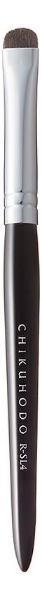 Кисть для макияжа глаз со скошенным краем Shadow Liner Brush R-SL4 (конский волос)