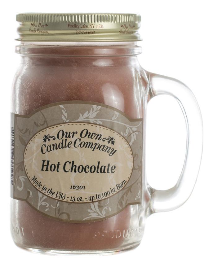 Ароматическая свеча Hot Chocolate: Свеча 370г
