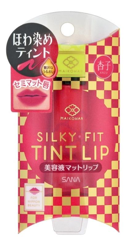 Жидкий полуматовый тинт для губ Maikohan Liquid Matte Lip 11мл: 03 Красный апельсин