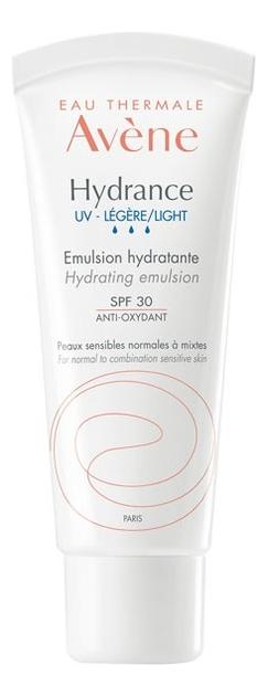 Легкая увлажняющая эмульсия Hydrance UV Legere Emulsion Hydratante SPF30 40мл avene hydrance legere hydrating emulsion увлажняющая эмульсия для лица 40 мл