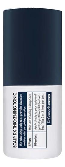 Тоник для кожи головы Scalp DX Thickening Tonic 100мл успокаивающий тоник для кожи головы semi di lino scalp relief sensitive skin calming tonic 125мл