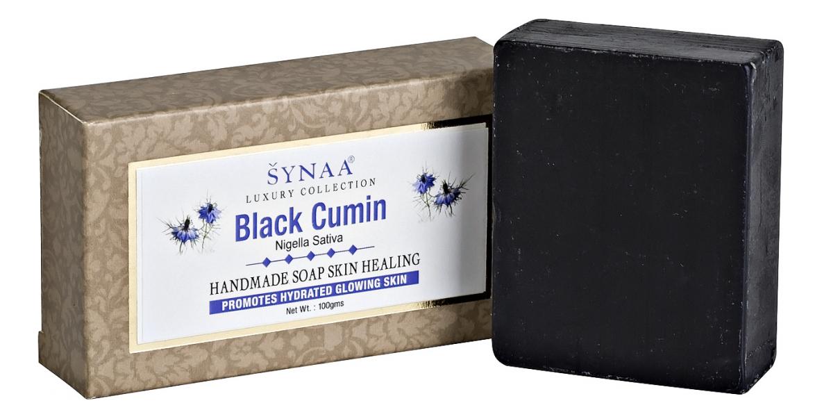 Мыло ручной работы с маслом семян черного тмина Black Cumin Handmade Soap 100г