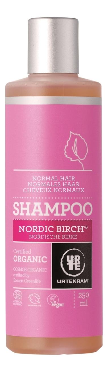 Шампунь для нормальных волос с экстрактом северной березы Organic Nordic Birch Shampoo: Шампунь 250мл evinal шампунь с экстрактом плаценты для нормальных волос 300 мл