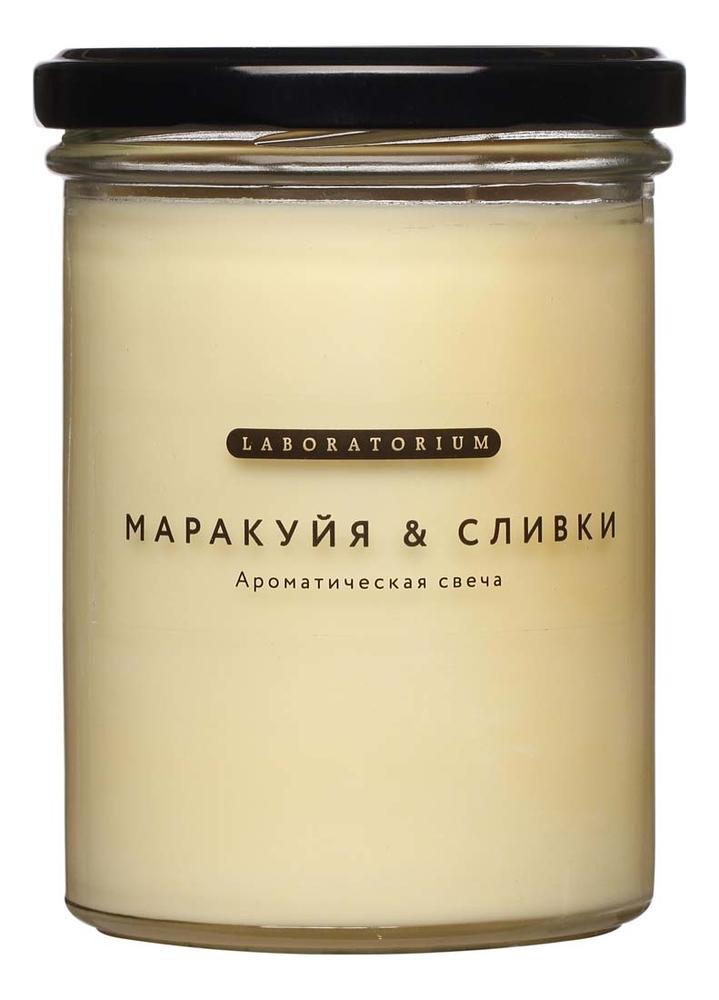 Ароматическая свеча Маракуйя и сливки: Свеча 280мл свеча зажигания denso u20esrn