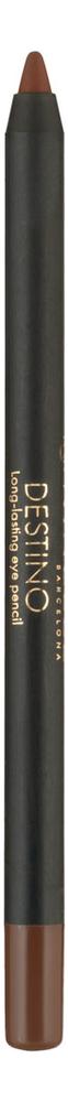 Карандаш для век устойчивый Destino Long-Lasting Eye Pencil 1,5г: No 222 карандаш для глаз long lasting eye pencil 0 28г 17 tu tu tourquoise