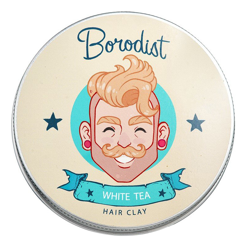 Глина для укладки волос White Tea Hair Clay 100г