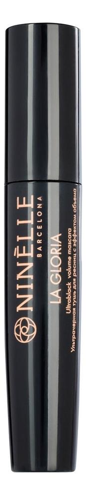Ультрачерная тушь для ресниц с эффектом объема La Gloria Ultrablack Volume Mascara 10мл la biosthetique тушь perfect volume deep forest для ресниц с эффектом объема 8 мл