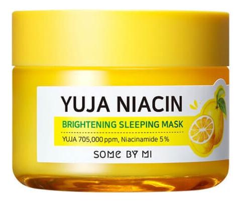 Ночная маска для лица с экстрактом юдзу Yuja Niacin 30 Days Miracle Brightening Sleeping Mask 60мл