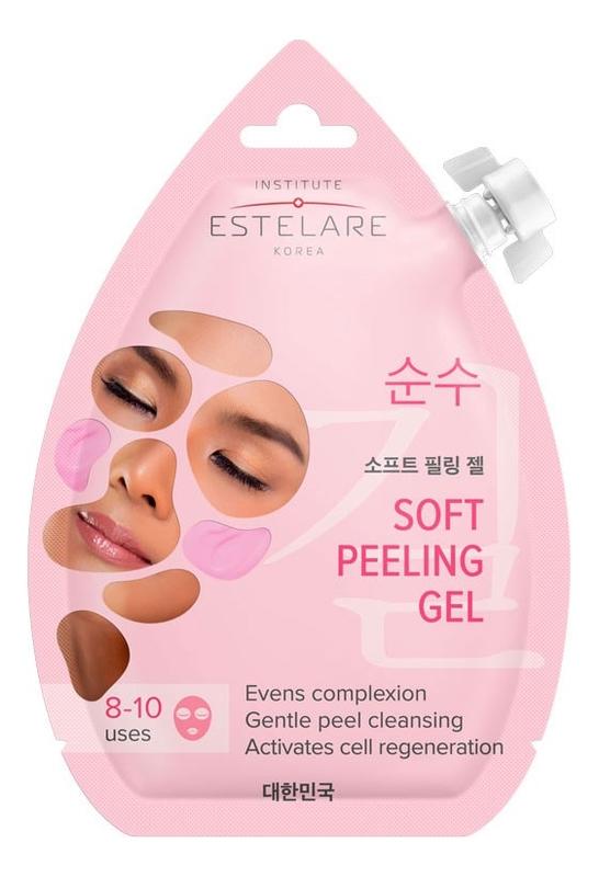 Мягкая маска-скатка для лица обновляющая Soft Peeling Gel 20мл обновляющая маска с полифенолами винограда 90 мл swisspure для лица