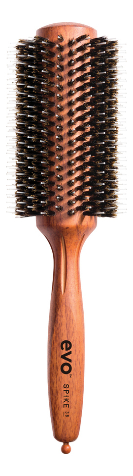 Щетка для волос круглая с комбинированной щетиной Spike Radial Brush: Щетка 38мл круглая щетка для волос с натуральной щетиной bruce natural bristle radial brush щетка 22мм