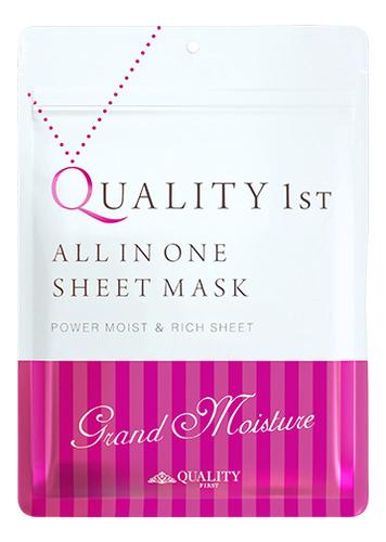 Увлажняющая маска для лица All in One Sheet Mask Grand Moisture: Маска 7шт guerlain super aqua mask увлажняющая маска super aqua mask увлажняющая маска