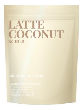 Кофейный скраб для тела Латте и кокос Latte Coconut Scrub 250г кофейный скраб для тела кофе и карамель coffee caramel scrub 250г