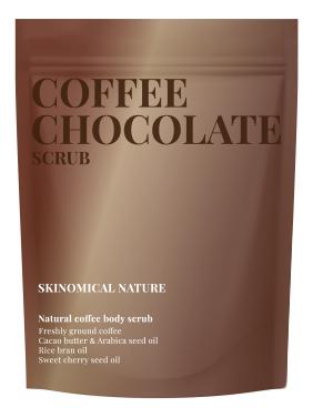 Кофейный скраб для тела Кофе и шоколад Coffee Chocolate Scrub 250г кофейный скраб для тела кофе и карамель coffee caramel scrub 250г