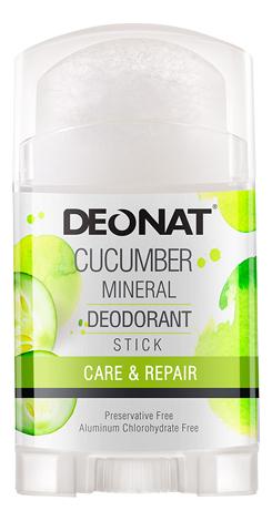 Дезодорант-кристалл с экстрактом огурца Cucumber Mineral Deodorant Stick: Дезодорант 100г deonat дезодорант кристалл природный в подарочной коробочке 155 г