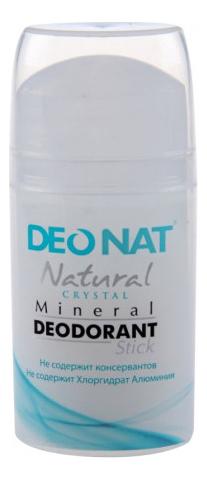 Дезодорант-кристалл Natural Crystal Mineral Deodorant Stick: Дезодорант 80г