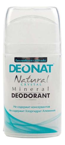 Дезодорант-кристалл Natural Crystal Mineral Deodorant Stick: Дезодорант 100г (овальный)