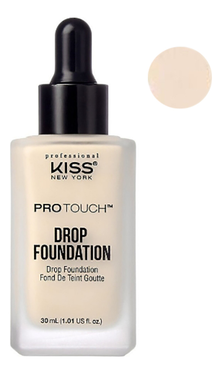 Легкая тональная основа Protouch Drop Foundation 30мл: Natural Ivory
