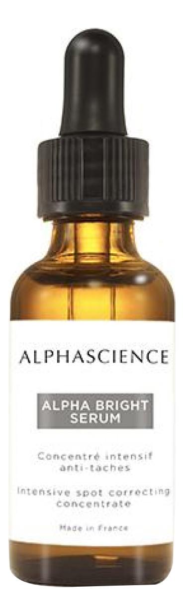 Интенсивная сыворотка для лица против пигментных пятен Apha Bright Serum 20мл сыворотка для лица elements retinoid 3% serum 20мл