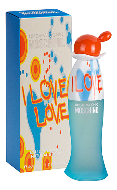 Moschino Cheap and Chic I Love Love: туалетная вода 50мл
