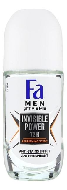 Шариковый антиперспирант Men Xtreme Invisible Power 50мл