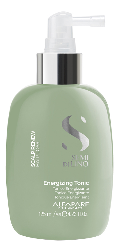 Тоник против выпадения волос Semi Di Lino Scalp Renew Hair Loss Energizing Tonic 125мл успокаивающий тоник для кожи головы semi di lino scalp relief sensitive skin calming tonic 125мл