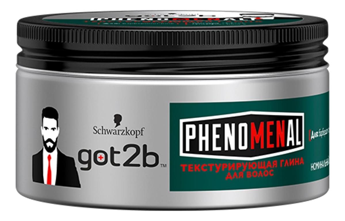 Текстурирующая глина для укладки волос Рhenomenal 100мл мастика для укладки волос putty 100мл мастика 100мл
