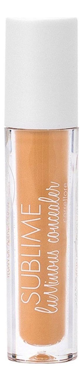 Жидкий консилер для лица с эффектом сияния Sublime Luminous Concealer 7мл: No 03 кремовый консилер для лица vibrant skin concealer 7мл 03 medium