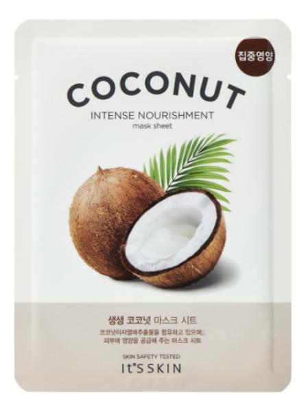 Увлажняющая тканевая маска для лица с кокосом The Fresh Mask Sheet Coconut 18г
