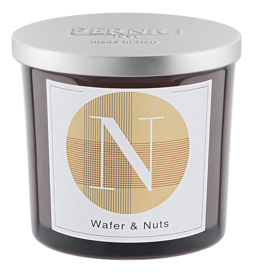 Ароматическая свеча Вафли и Орех: свеча 200г ароматическая свеча leather juniper кожа можжевельник свеча 200г