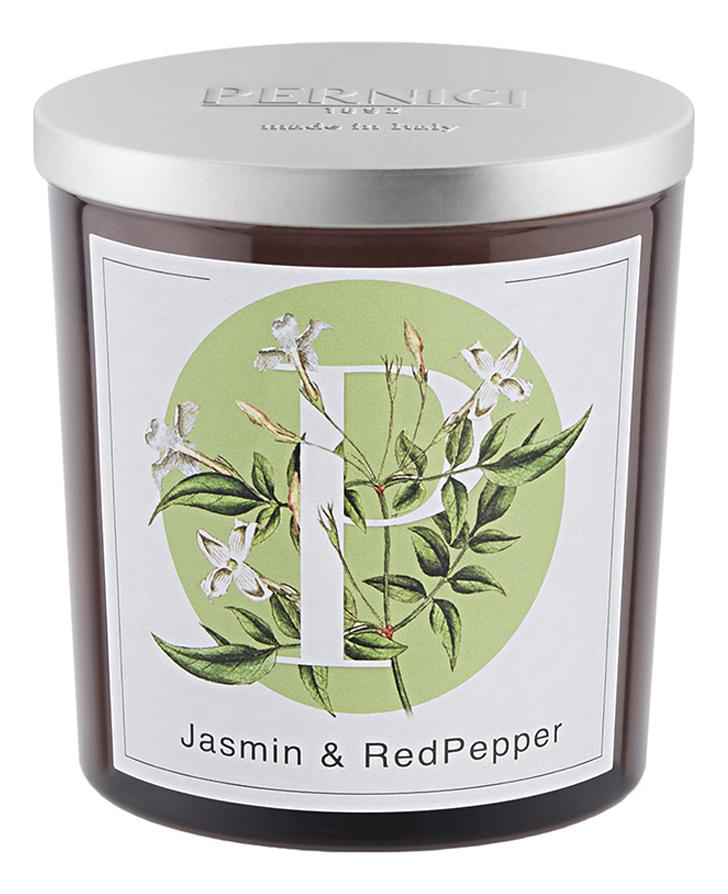 Ароматическая свеча Жасмин и Красный перец: свеча 350г