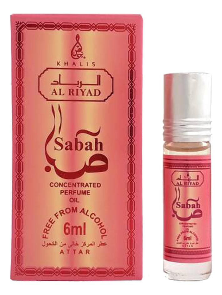 Khalis Sabah: масляные духи 6мл (Al Riyad) khalis noor масляные духи 6мл