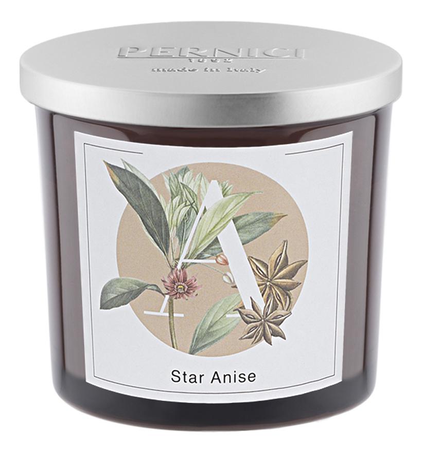 Ароматическая свеча Звездочка аниса: свеча 200г ароматическая свеча leather juniper кожа можжевельник свеча 200г