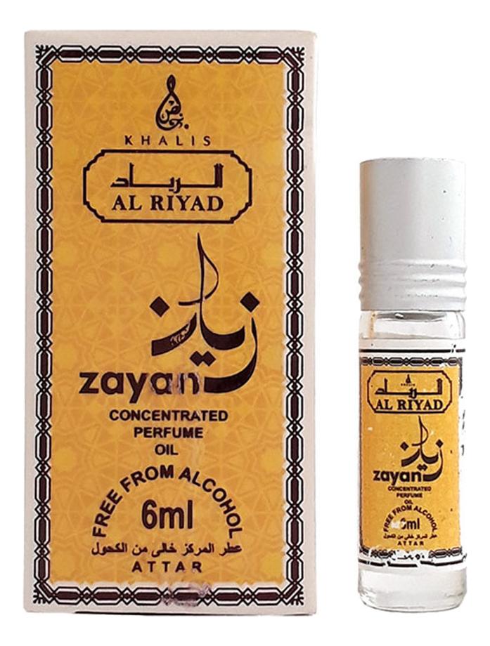 Khalis Zayan: масляные духи 6мл (Al Riyad) khalis noor масляные духи 6мл