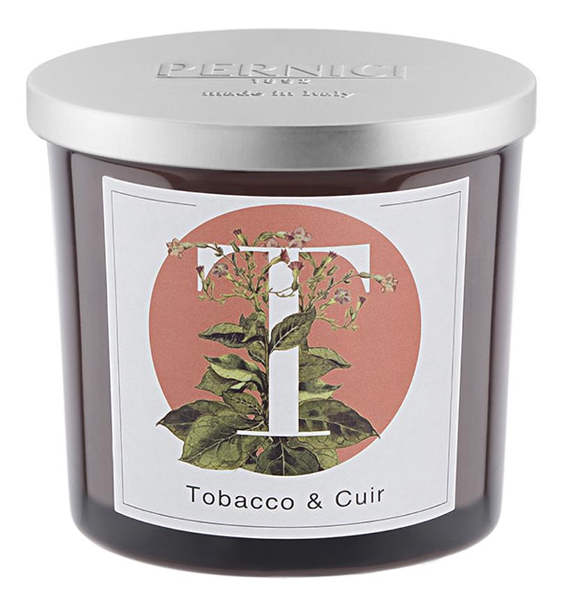 Ароматическая свеча Табак и Кожа: свеча 200г ароматическая свеча leather juniper кожа можжевельник свеча 200г