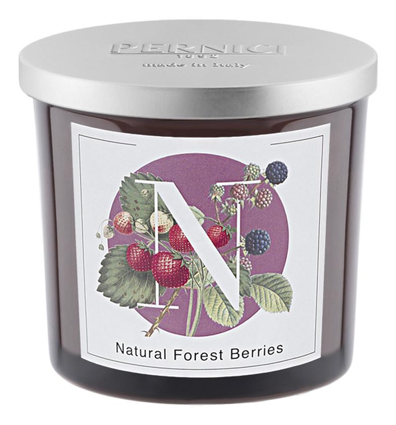 Ароматическая свеча Натуральные лесные ягоды: свеча 200г ароматическая свеча leather juniper кожа можжевельник свеча 200г