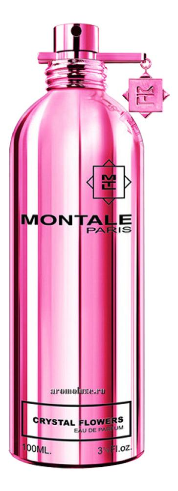 Montale Crystal Flowers: парфюмерная вода 100мл тестер montale aoud sense туалетные духи тестер 100 мл