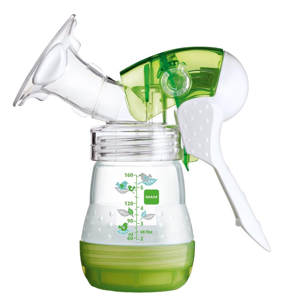 Молокоотсос ручной Manual Breast Pump + бутылочка 160мл