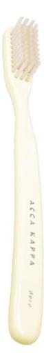 Зубная щетка из натуральной щетины Vintage Toothbrush Pure White Bristle 21J580AV щетка для обуви collonil rossharburste из натуральной конской щетины цвет темный