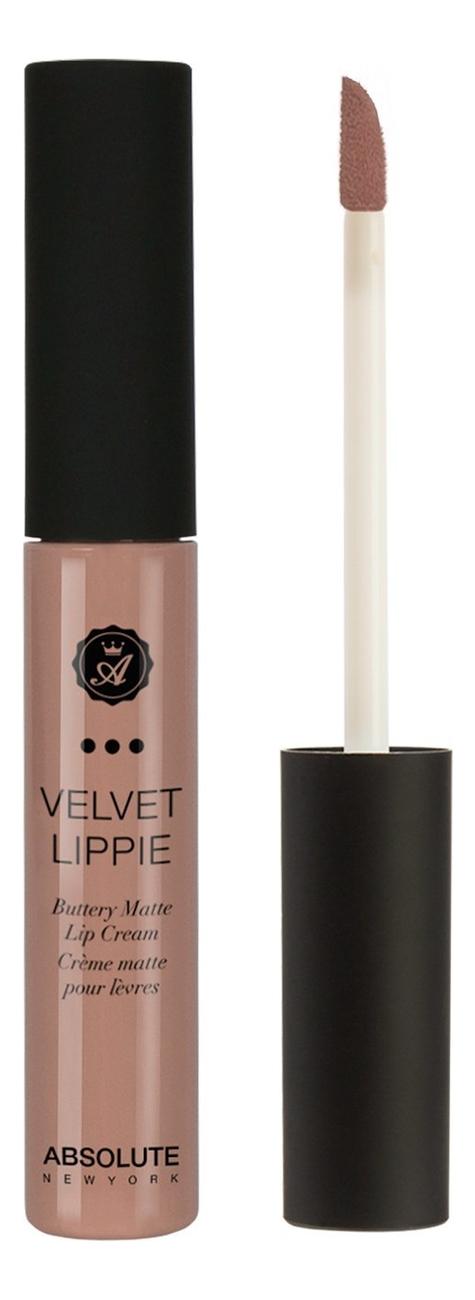 Жидкая матовая помада для губ Velvet Lippie 6мл: AVL26 Cashmere absolute new york жидкая матовая помада velvet lippie 26 оттенков mojito