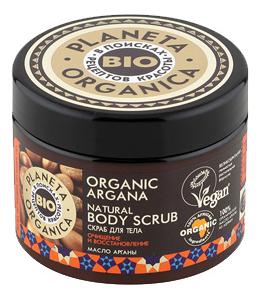 Скраб для тела Очищение и восстановление Organic Argana Natural Body Scrub 300мл шампунь скраб очищение и суперобъем