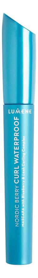 Водостойкая подкручивающая тушь для ресниц Nordic Berry Curl Waterproof Black 8мл тушь для ресниц lumene lumene lu021lwduam1