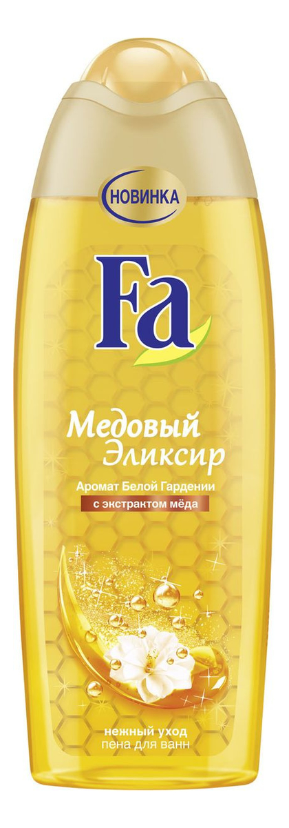 Пена для ванн с ароматом белой гардении Медовый эликсир 500мл со эликсир купить