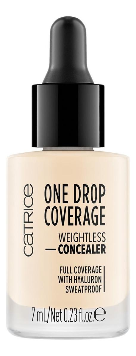 Консилер для лица One Drop Coverage Weightless Concealer 7мл: 002 True Ivory кремовый консилер для лица vibrant skin concealer 7мл 02 light